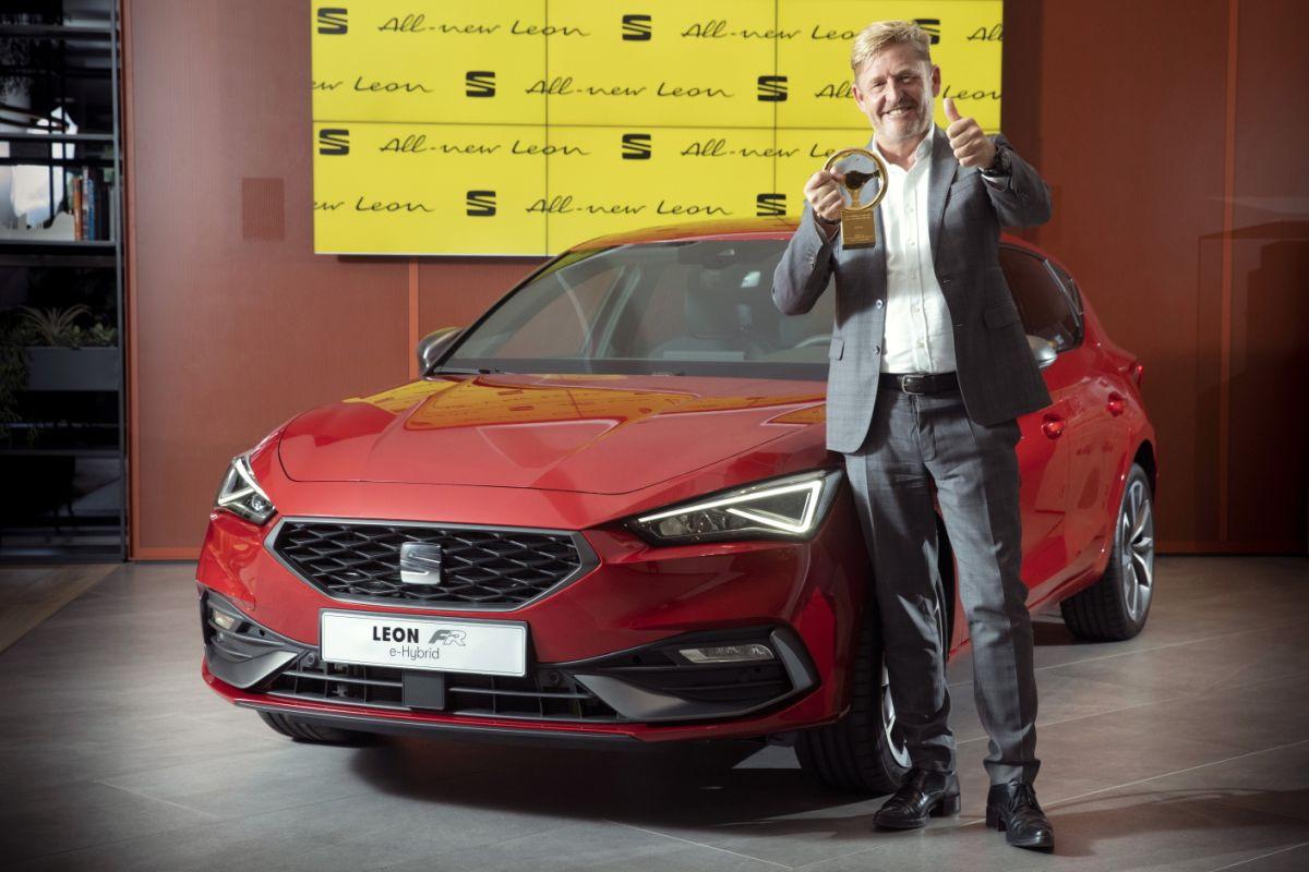 """""""Zlatni volan"""" za novi SEAT Leon"""