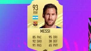 Kraj dominacije: Messi više nije igrač s najboljom ocjenom za dodavanje na FIFA 21