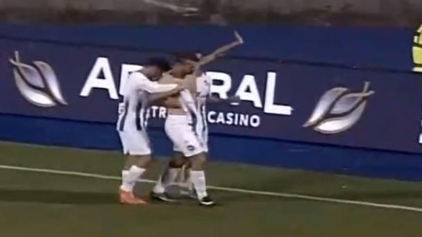 Ramić skinuo dres nakon gola, pa se izvinjavao navijačima Želje