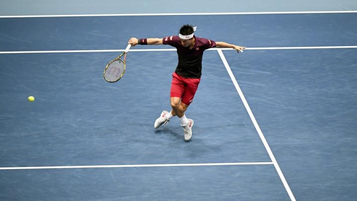 Nishikori prvi finalist u Beču