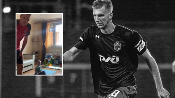 Posljednji video preminulog ruskog fudbalera: Presretan zbog majstorije, nekoliko sati kasnije smrt