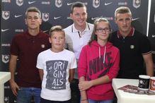 Duljević, Husejinović i Hodžić se družili sa navijačima