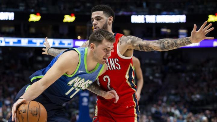 Dončić vodio Dallas do nove pobjede: Mavericksi demolirali Pelicanse sa 46 poena razlike