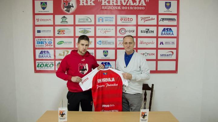 Haris Bašić se vratio u RK Krivaja