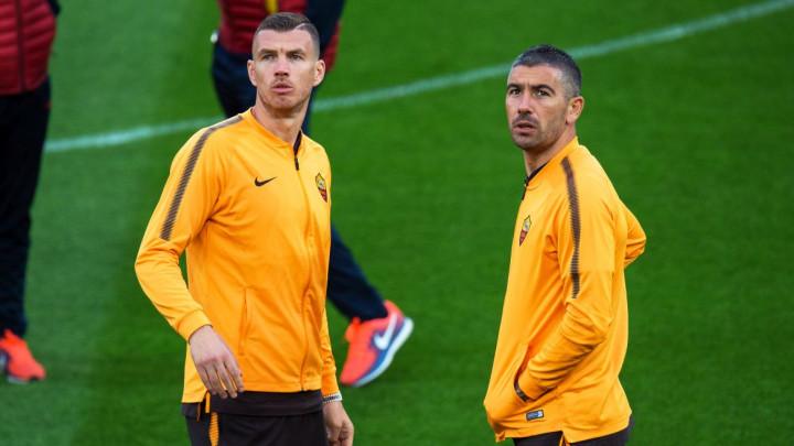 """Kolarov i Džeko """"zatrpani"""" porukama pred okršaj Rome i Liverpoola"""