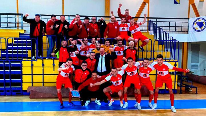 Velika pobjeda MNK Salines na gostovanju kod MNK Mostar SG za plasman u finale KUP-a BiH
