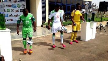 Nigerija predstavila dresove za SP