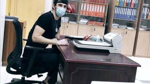 Čim se situacija smirila Enes Sipović stavio potpis na novi jednogodišnji ugovor