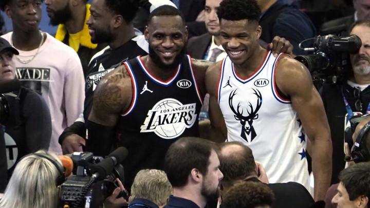 LeBron i Giannis izabrali All Star timove!