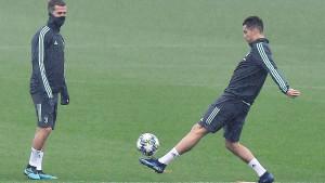 Pjanić i Ronaldo trenirali po posebnom programu