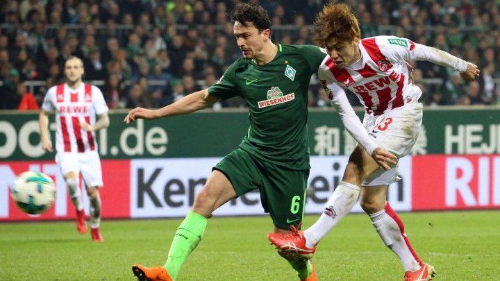 Werder ostavio Koeln na začelju