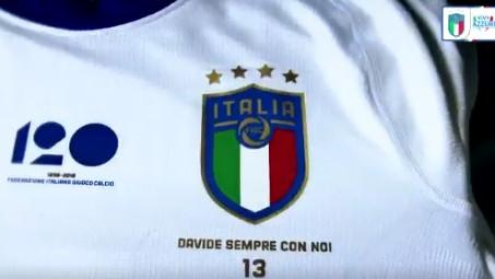 Italija večeras u posebnim dresovima