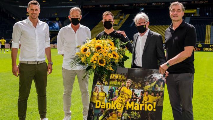 Niko se nije bolnije oprostio od nekog kluba kao Goetze od Borussije Dortmund