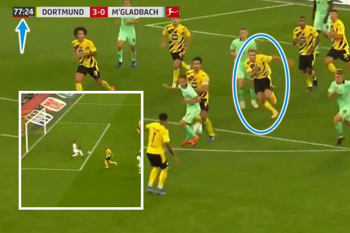 """Ili je čovjek ili robot: Haaland branio korner, pa upalio """"turbo"""" i deset sekundi kasnije slavio gol"""
