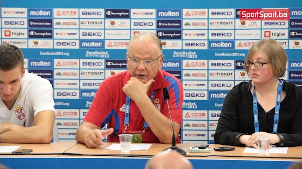 Ivković: Prestali smo igrati kada smo poveli sa 25 razlike