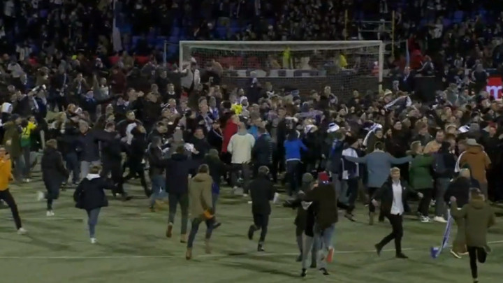 Potpuna eksplozija emocija u Helsinkiju, svi ušli na stadion da proslave historijski uspjeh
