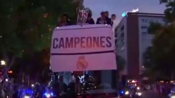 Kraljevski doček za Real u Madridu