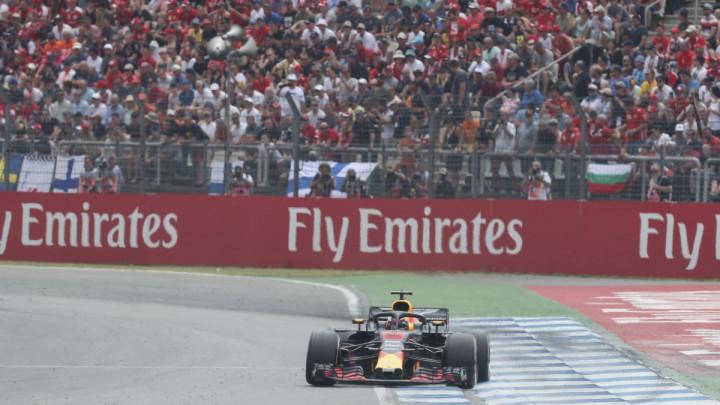 Ricciardo najbrži na prvom treningu na Hungaroringu