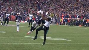 Odbrana večeri je viđena u NFL-u: Gilmore u stilu vrhunskih golmana