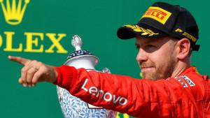 Vettel svoju vožnju ove godine ocijenio s peticom
