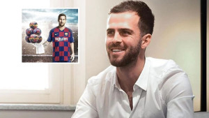 Pjanić već prati Barcelonu na Instagramu, a jedna objava mu se posebno svidjela