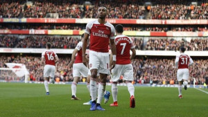 Aubameyang se oglasio nakon što su ga navijači Tottenhama gađali bananom