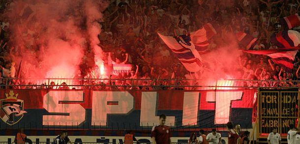 UEFA kaznila Hajduk zbog pirotenike