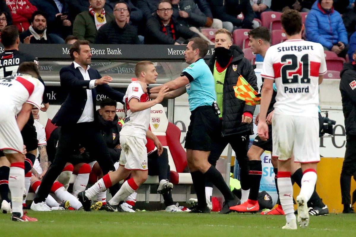 Igrač Stuttgarta dobio žestoku kaznu zbog pljuvanja
