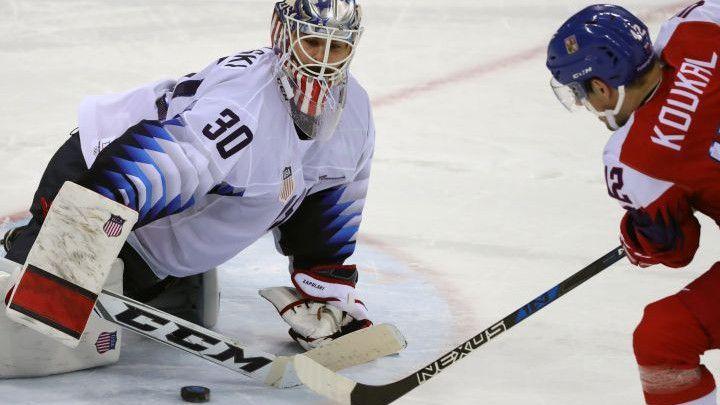 Oproštaj hokejaša SAD-a od Olimpijskih igara