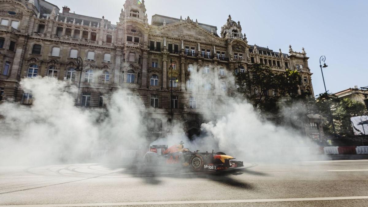 Formula 1 na ulicama Budimpešte