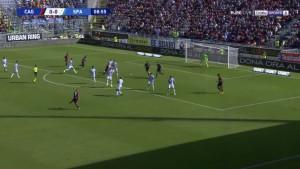"Nainggolan fenomenalnim udarcem ""skinuo paučinu"" sa gola za vodstvo Cagliarija"