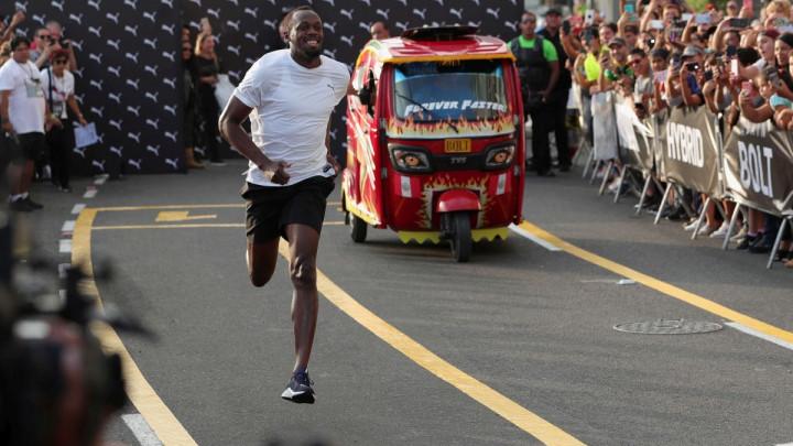 Bolt odabrao trojicu fudbalera sa kojim bi trčao štafetu