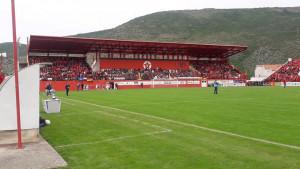 Mirza Teletović sa tribina podržava FK Velež