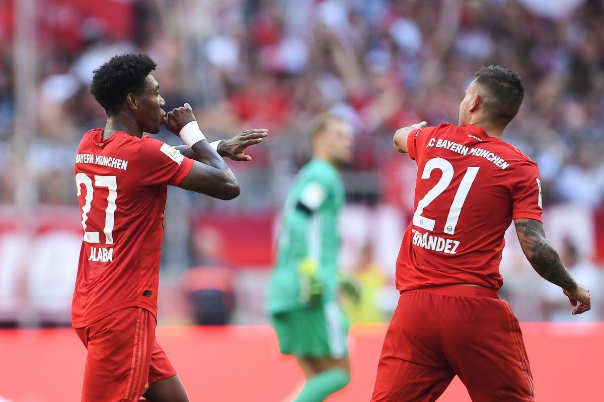 Mainz poveo, pa ga Bayern potpuno razbio, golčine Pavarda i Alabe