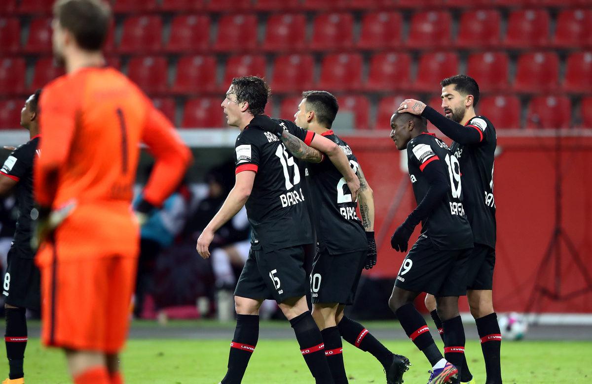 Golijada u Leverkusenu, Bayer izbacio Eintracht
