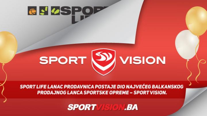 Sport Life poslovnice zvanično dio Sport Vision prodajnog lanca
