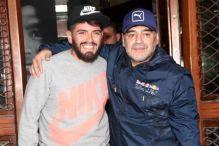 Emotivni susret Maradone sa sinom nakon 13 godina