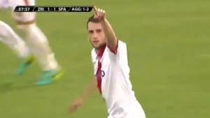 Todorović pogodio za izjednačenje, Zrinjskom trebaju još dva gola