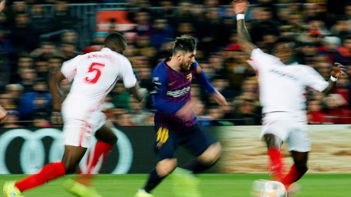 Lionel Messi je Sevillina najgora noćna mora