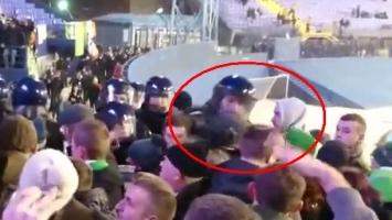 Navijač Celtica osjetio okrutnost policije na Maksimiru
