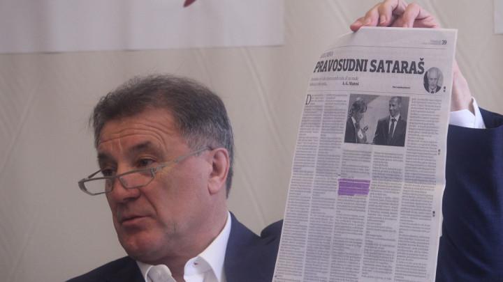 Zdravko Mamić uvredama častio novinare u Međugorju