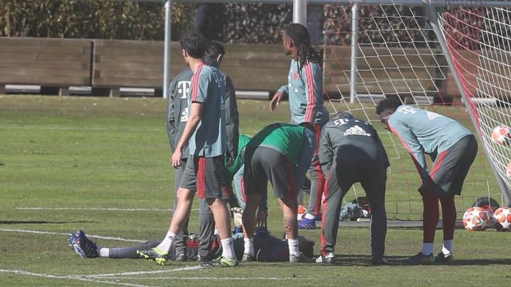 Brutalan nokaut na treningu Bayerna: Mladi golman nepomično ležao nekoliko minuta