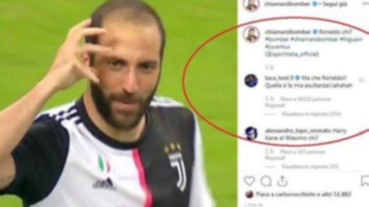 Legendarni napadač se javio nakon gola Higuaina: To je moja proslava gola!