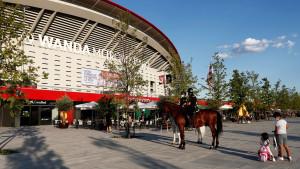 Real Madrid na Wanda Metropolitano stadionu
