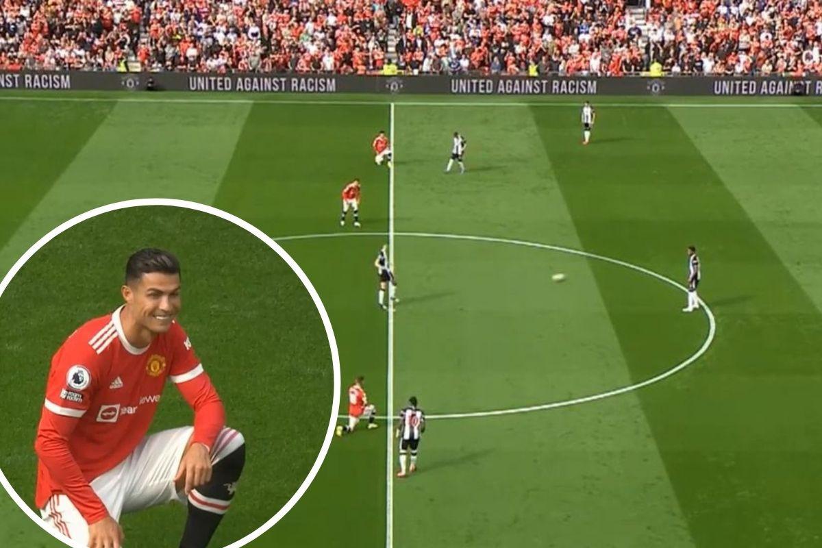 Ronaldo se morao nasmijati: Igrač Newcastlea se obrukao, a utakmica nije ni počela