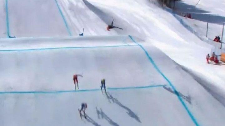 Umalo tragedija: Kanađanin preživio stravičan pad na Olimpijskim igrama