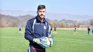 Stevanović 'zaključao' mrežu već četiri utakmice: Presretan sam, hvala treneru i saigračima