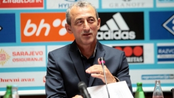 Baždarević: Protiv Gibraltara moramo biti profesionalni