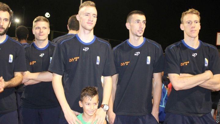 Košarkaška reprezentacija svečano otvorila obnovljene terene