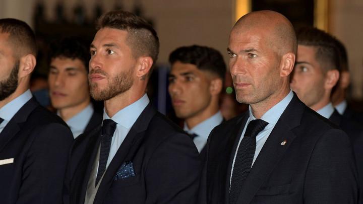 Zidane objavio spisak igrača koji će napustiti Real, a onda se oglasio Ramos